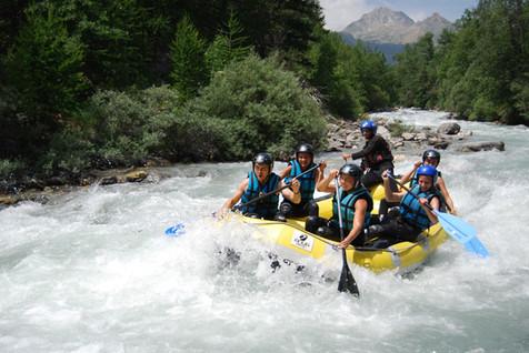 rafting serre che