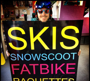 SPORTRENT skis snowscoot fatbikes raquet