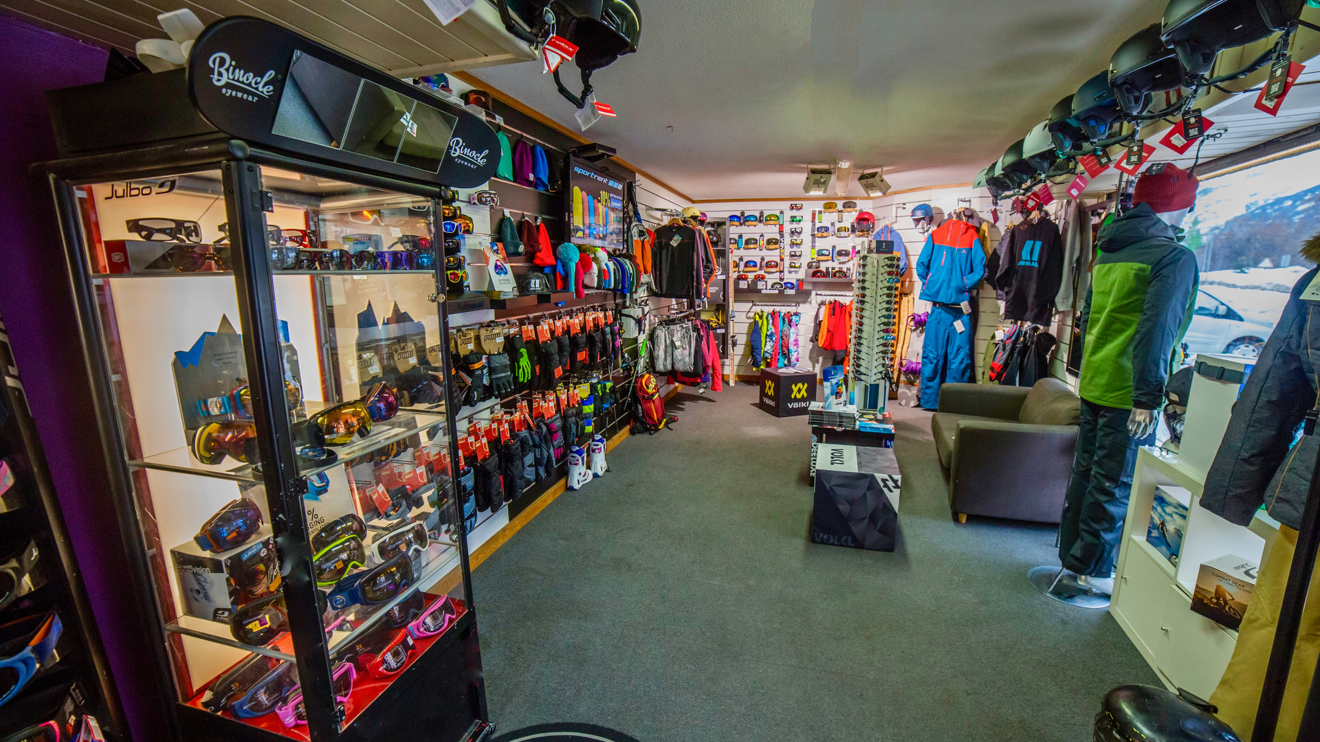 SPORTRENT Villeneuve shop