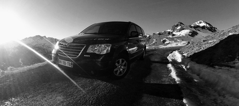 alpine black cars réservation