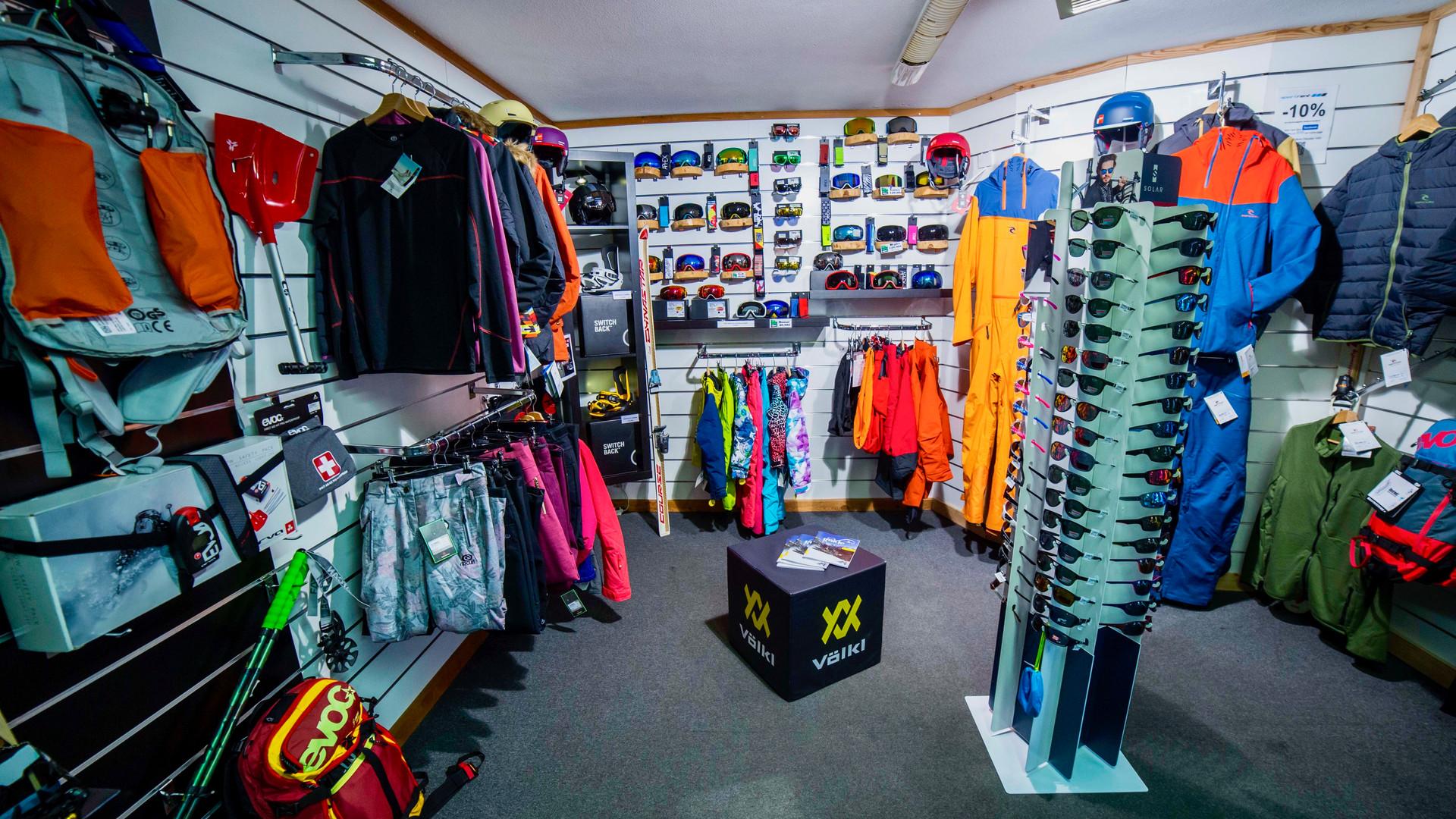 SPORTRENT Villeneuve vente accessoires