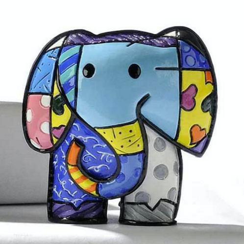 MINI POLYRESIN LUCKY ELEPHANT DESIGN FIGURINE