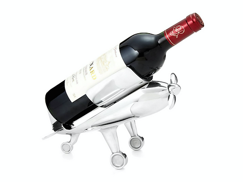 AIRPLANE BOTTLE HOLDER & CORKSCREW