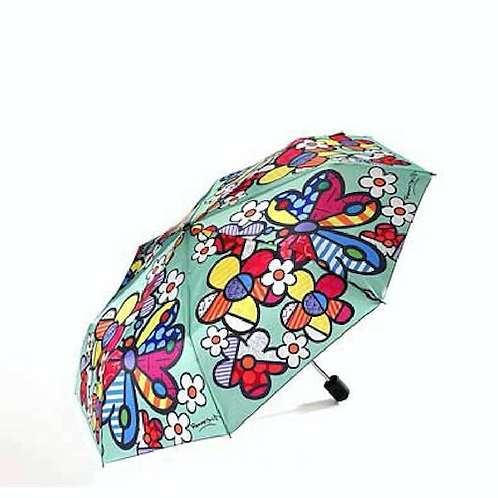 POLYSTER UMBRELLA WITH BUTTERFLY