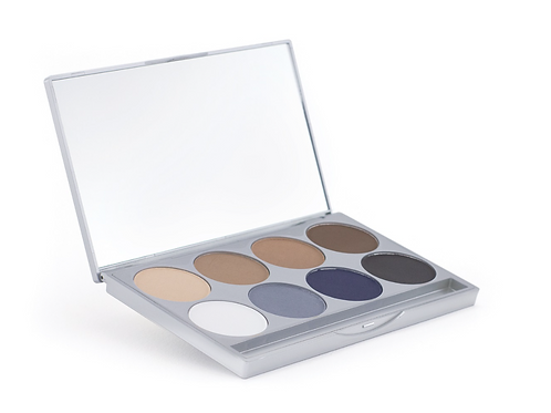 HD Matte Eyeshadow Palette – Smokey