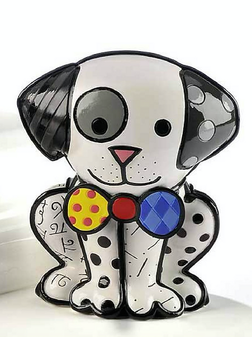 POLYRESIN DALMATIAN DOG FIGURINE