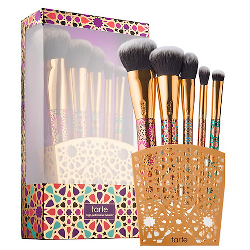 TARTE LIMITED EDITION ARTFUL ACCESSORIES MAKEUP BRUSH SET