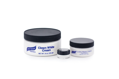 Clown White Cream 2.5oz