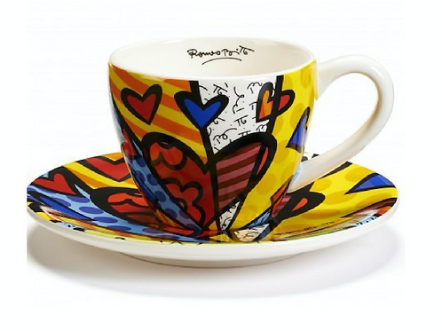 TEA CUP & SAUCER SET A NEW DAY