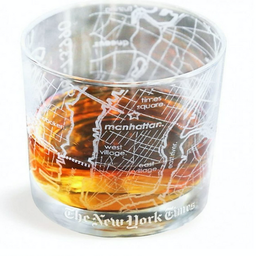 CITY MAP GLASS –  One For The Road