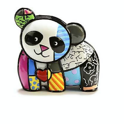 POLYRESIN MINI PANDA FIGURINE