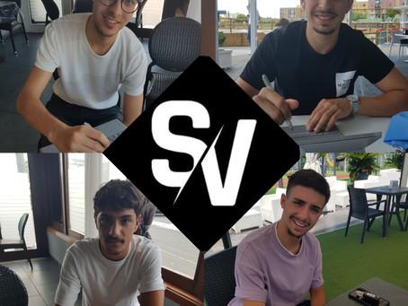 Quattro giovani di belle speranze con SV Sport Management