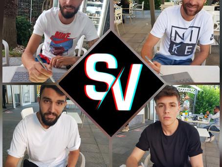 Gaetano Iommazzo, Antonio Maio, Daniele Farriciello e Alfonso Ruggiero con noi fino al 2022.