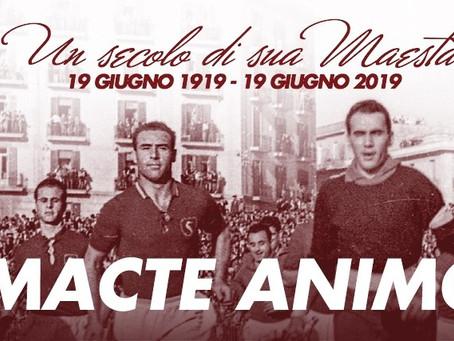#MacteAnimo - Le origini di un motto sportivo