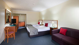 Twin Room in Comfort Inn Tweed Heads