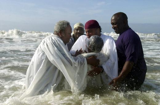 Ocean Baptism, 2003