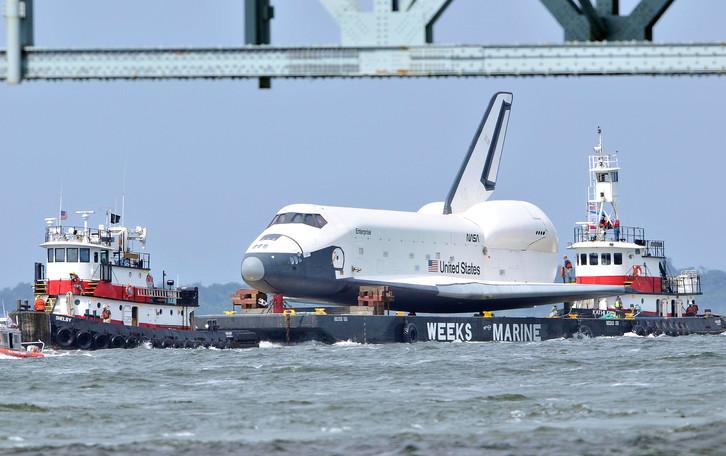 Shuttle Enterprise Retired