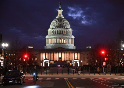 The Capitol At Dusk