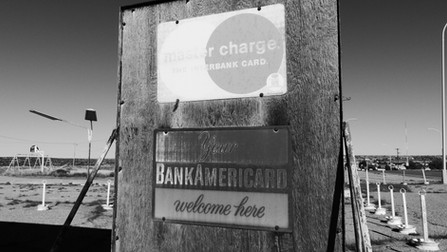 """""""Your Bank Americard Welcome Here"""""""