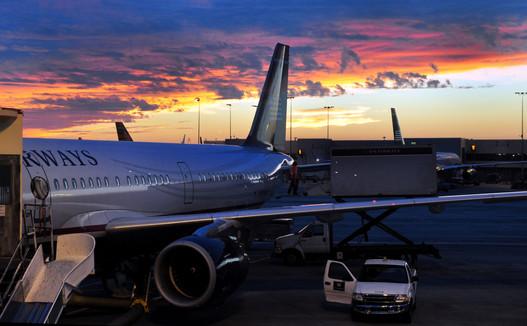 Norfolk Airport Sunset