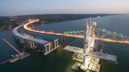 Mario M. Cuomo Bridge Under Construction