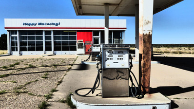 Ghost Town Gas Station