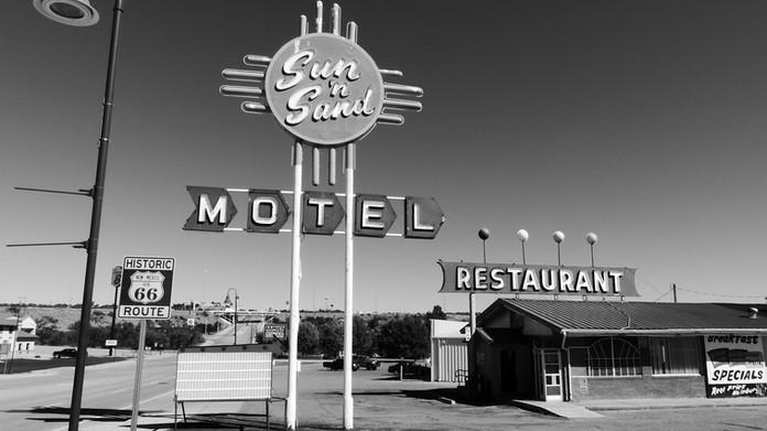 Sun N Sand Motel, Route 66
