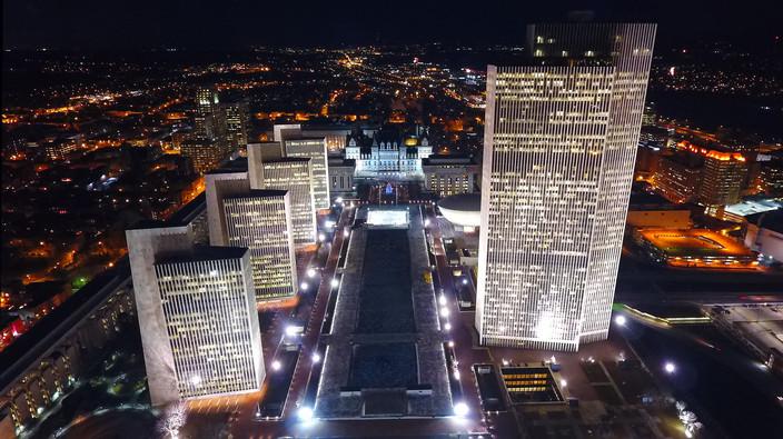 Albany At Night