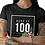 "Thumbnail: New ""Keep It 100"" Ladies Tee"
