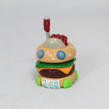 "Miniature ""Krabby Patty Mobile"""