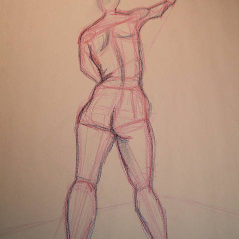 Figure Drawing Standing