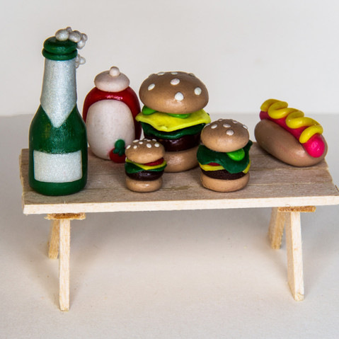Miniature Picnic Table