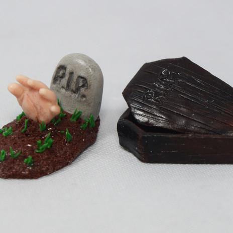 Miniature Grave Stones