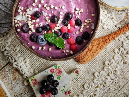 Smoothie bowl - Zdrava rapsodija boja u zdjelici