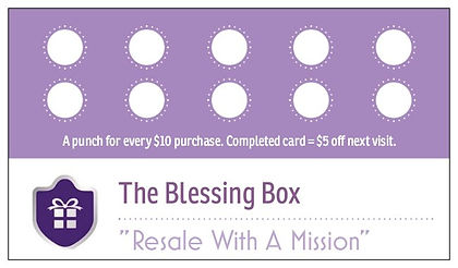 The Blessing Box Resale Store in Denison Texas