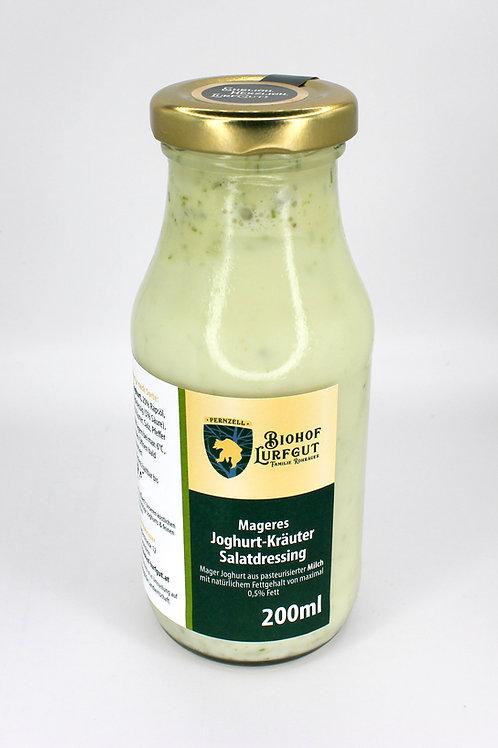 Mageres Joghurt-Kräuter-Salatdressing