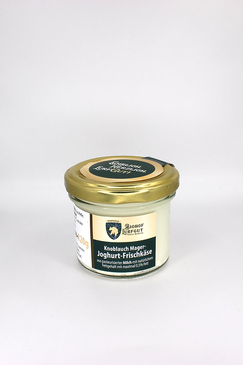 Knoblauch Mager-Joghurt Frischkäse