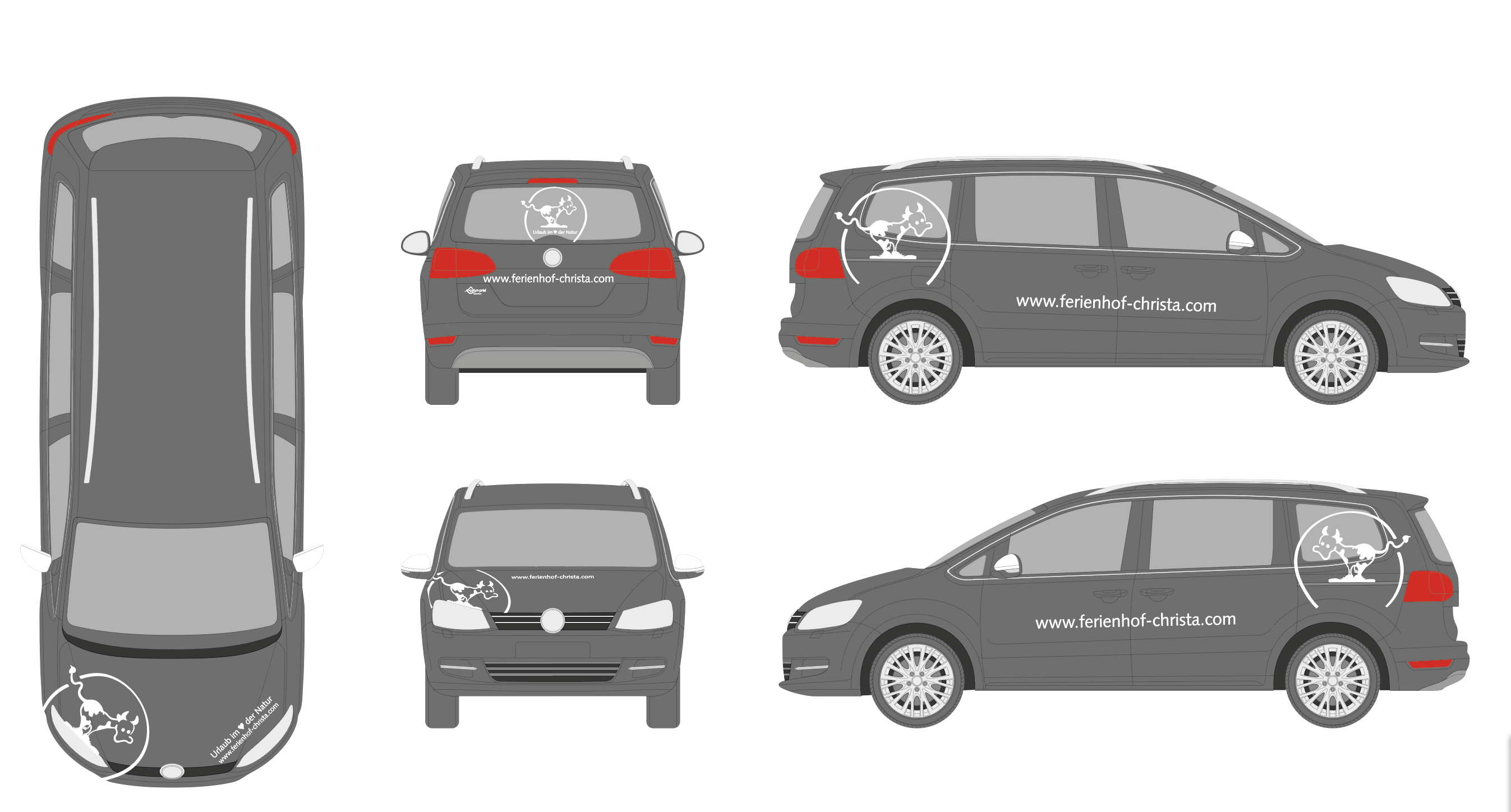 Ausarbeitung einer Fahrzeugbeschriftung