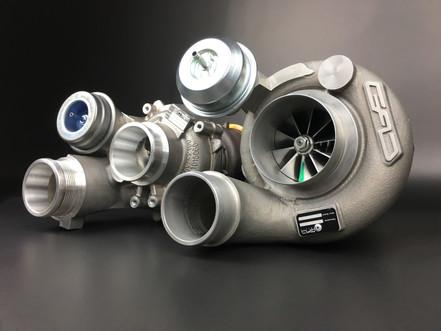 Twin Scroll Turbocharger GAD 177 68/84 RS