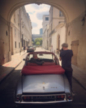 voiture de collection pour shooting Paris