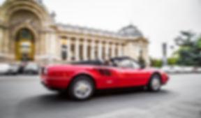Location Ferrari cabriolet Paris
