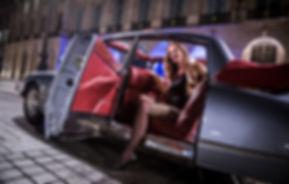 Limousine cabriolet décapotable Paris