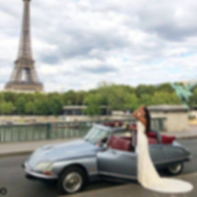 wedding car rental Paris