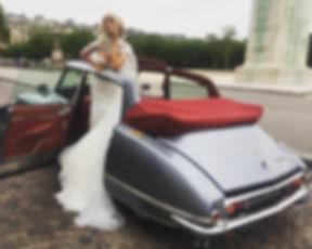 voiture d'exception pour mariage Ile de France