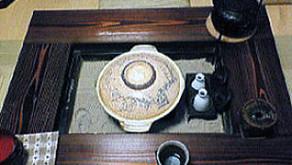 酒燗器、灰、五徳などの囲炉裏の道具を購入してく下さいました。H様