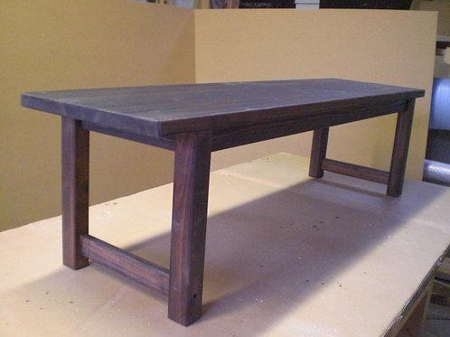 木製手作りベンチ椅子2脚セット