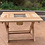 Thumbnail: 七輪バーベキューテーブルとベンチ椅子のセット