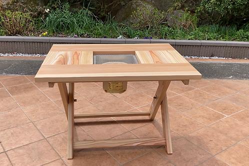 Mサイズ七輪テーブル ベーシックタイプ