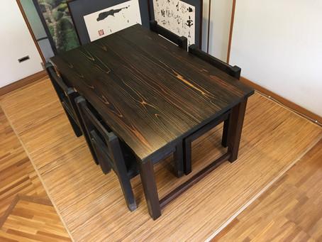 K様よりご注文いただいた椅子が完成しました。