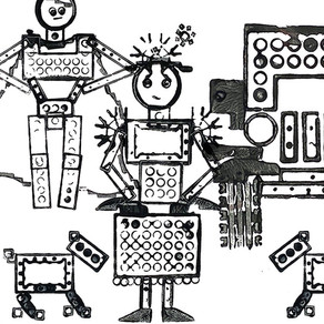 LEGO Printmaking